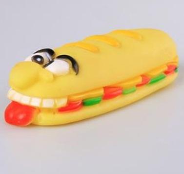 Hamburger para Cachorro - Emite som