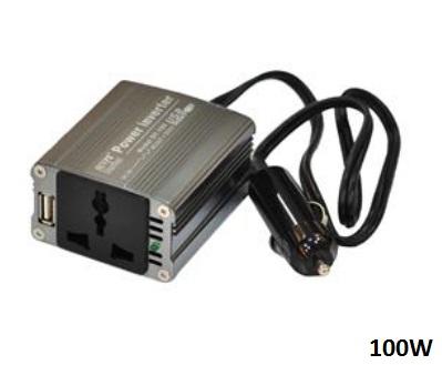 Inversor Automotivo 110V ou 220V + Entrada USB