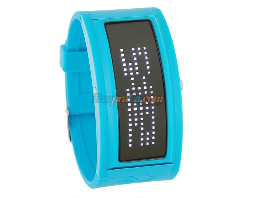Jelly Watch II - Relógio LED Fashion  (5 cores)