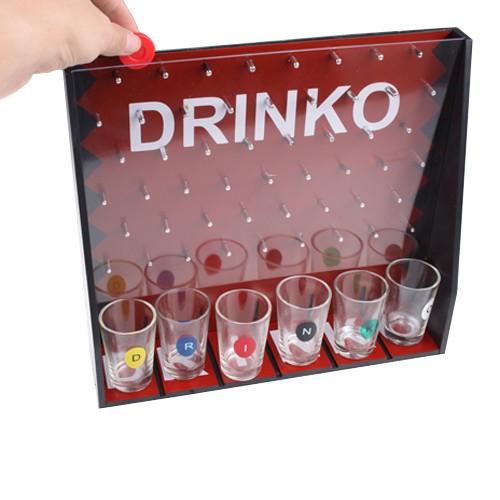 Jogo de bebida com 6x Copos de Shot