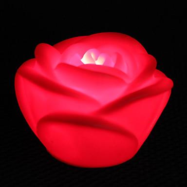 Lâmpada LED em formato de Rosa