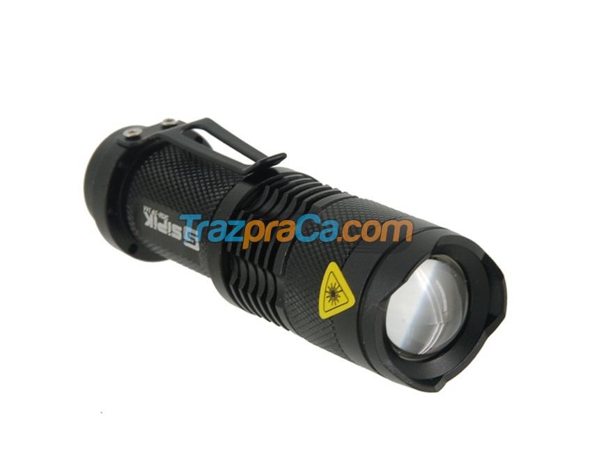 Lanterna Compacta com Luz LED Ajustável
