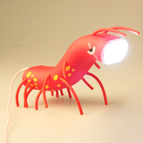 Luminária LED Camarão Divertido