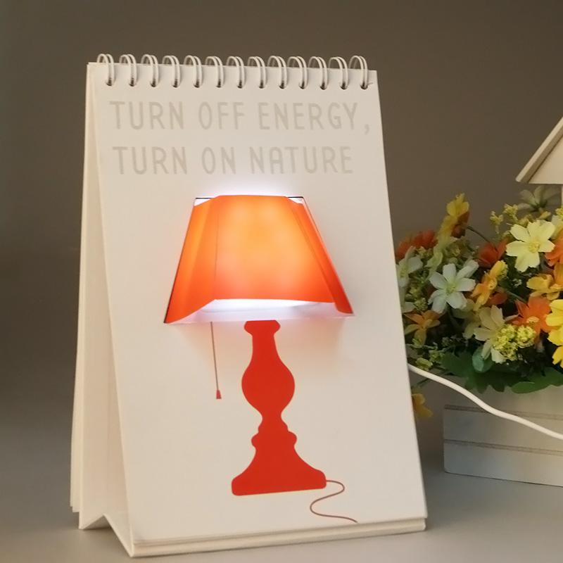 Luminária LED Criativa USB - Vários Desenhos em uma só Luminária