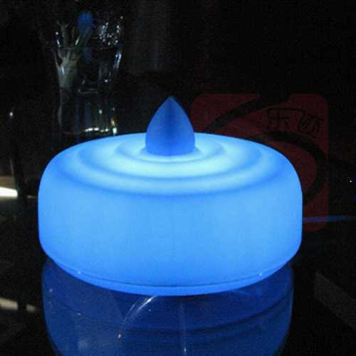 Luminária LED Relaxante com Som de Gotejo