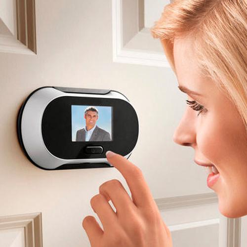 Magic Eye - Olho Mágico Digital 2.0 Megapixel com visor LCD - Brinno