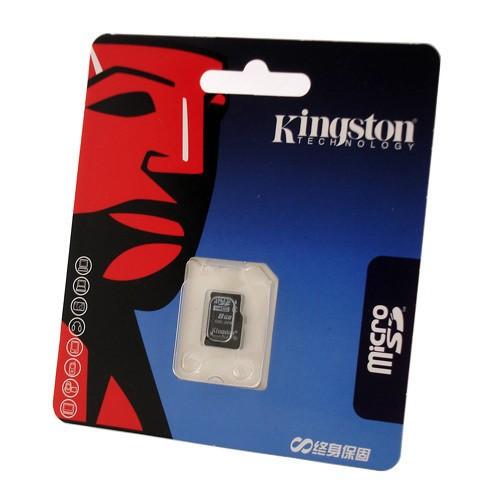Memória MicroSD 16GB Kingston