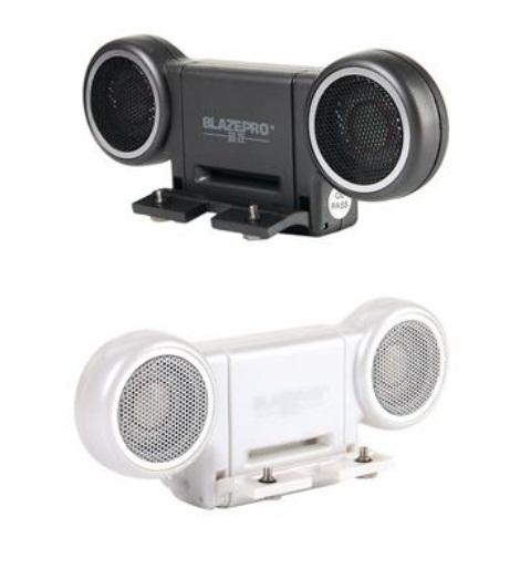 Mini Amplificador Stéreo portátil com plug de 3,5 mm para PSP