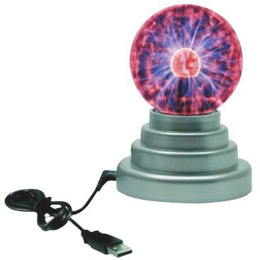 Mini Esfera de Plasma USB
