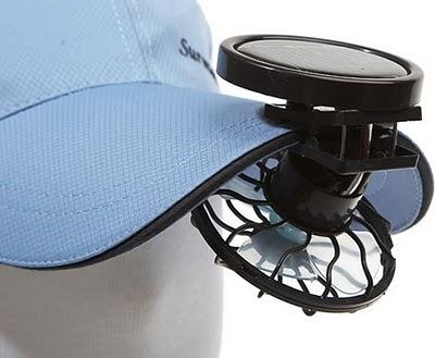 Mini Ventilador Movido a Energia Solar - O seu mini ventilador
