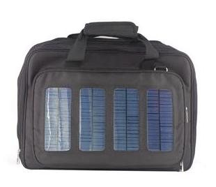 Mochila Solar Preta - Voltaic