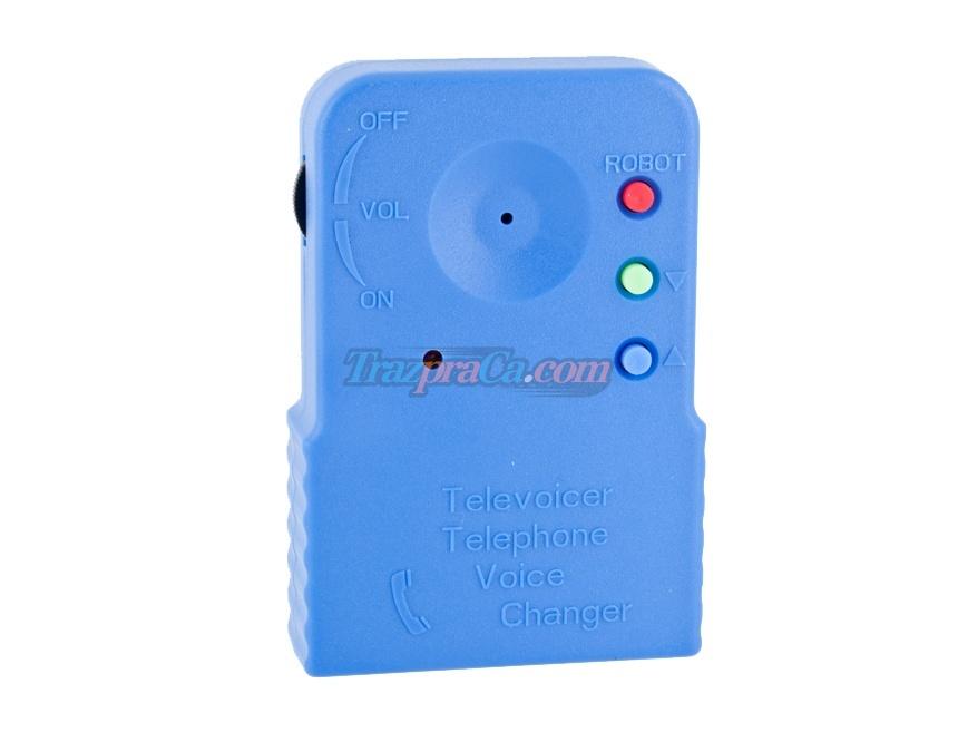 Modificador de Voz Wireless (Azul)