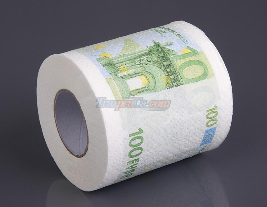 Papel Higiênico 100 Euro