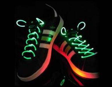 Par de Cadarço em LED (5 cores)