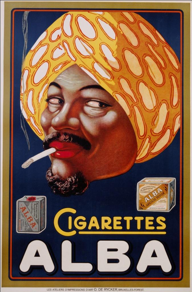 Poster Cigarettes Alba