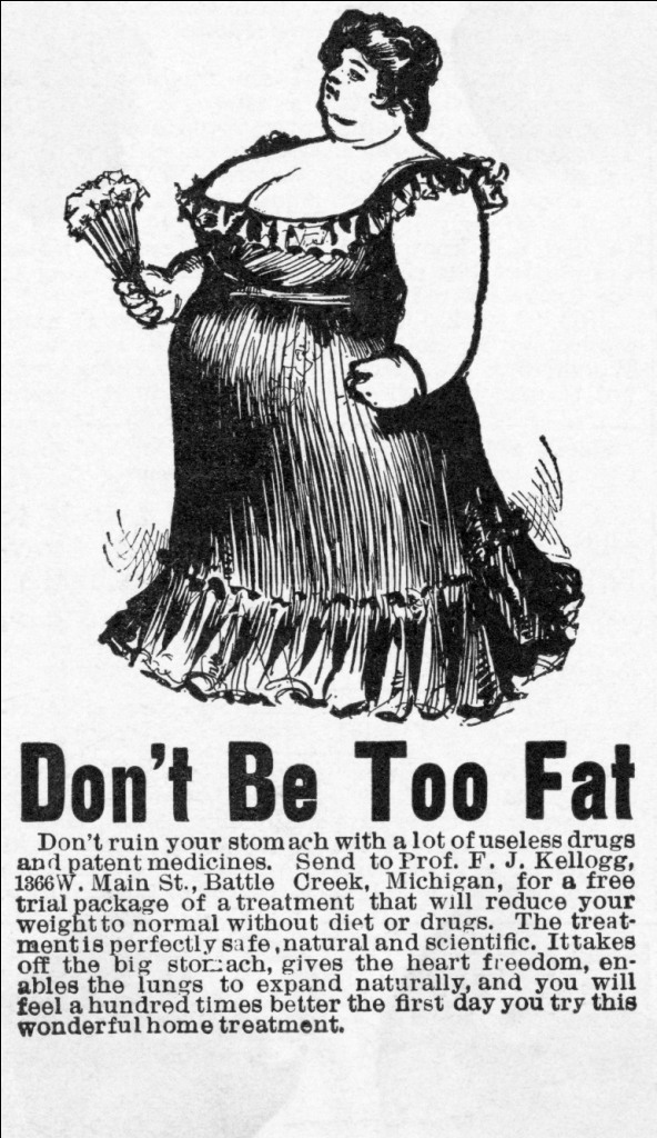 Poster Dont be Too Fat