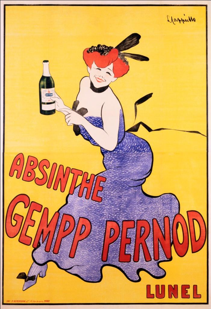 Poster Gempp Pernod
