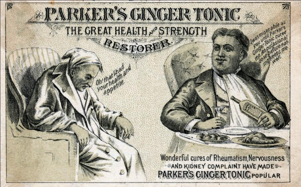 Poster Ginger Tonic