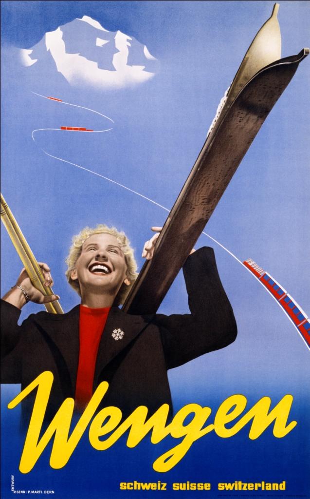 Poster Wengen