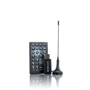 Receptor de TV Digital USB com Controle Remoto