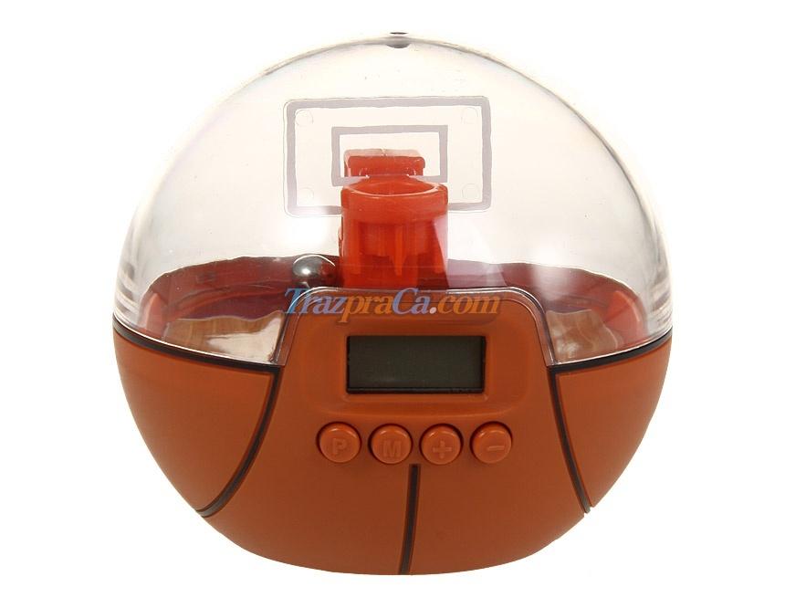 Relógio Alarme - Sport Time Basketball
