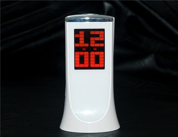 Relógio de LED - Multifuncional com Projetor de Horas