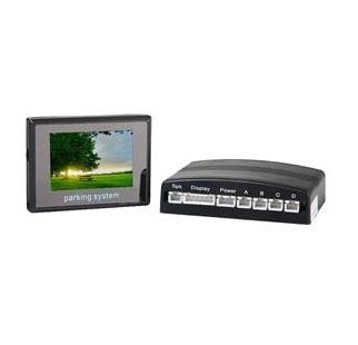 Sensor de Estacionamento Premium com Display colorido LCD de 2.5 polegadas
