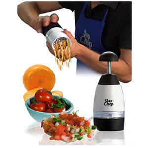 Slap Chop + Gravity - Picador de Alimentos e Ralador de Queijos - Slap Chop