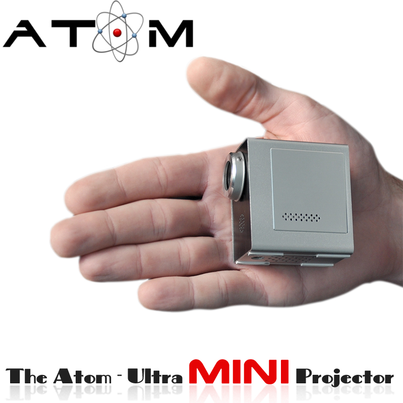 Super Mini Projetor Multimídia ATOM Data Show