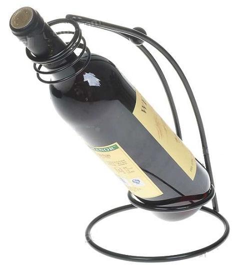 Suporte de Ferro para Vinho