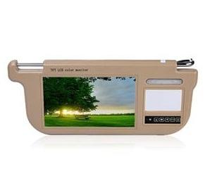 Tapa sol veicular com tela LCD TFT Touch Screen de 9