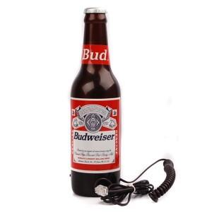 Telefone em Forma de Garrafa Budweiser