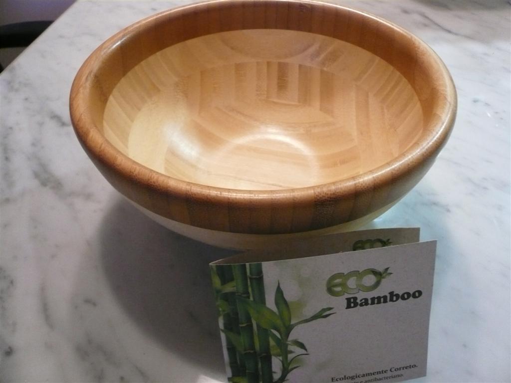 Tigela 25x10cm EcoBamboo - Entrega garantida em 08 dias úteis