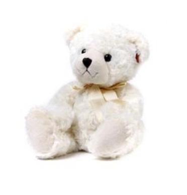 Urso de Pelucia 30cm (branco)
