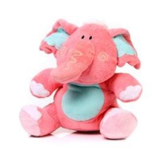 Urso de Pelucia Elefante (rosa)