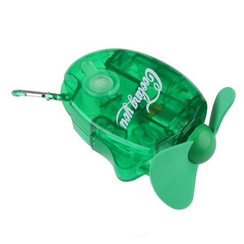 Ventilador de Mão com Spray Refrescante