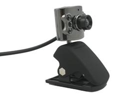 Webcam 1.3 Megapixel com LED
